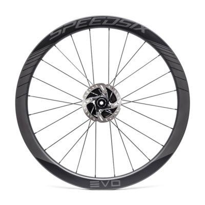 Rodas estrada carbono Speedsix evo 45 tubular disco
