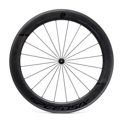 Rodas de triatlo carbono speedsix air 65 90 pneu