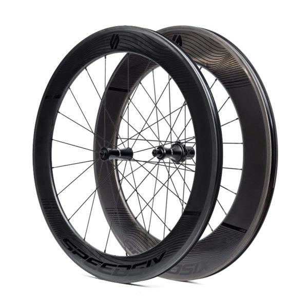 rodas carbono triatlo speedsix air65 90 pneu disco
