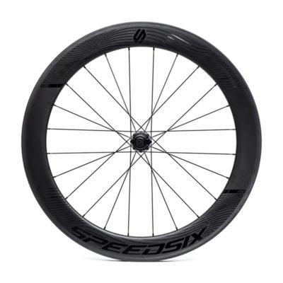 Rodas carbono triatlo pneu speedsix air 65