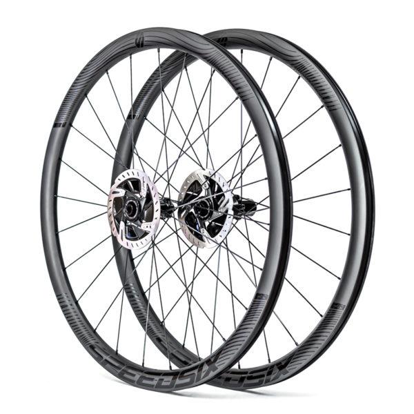 Rodas carbono estrada leves speedsix air 35 ultralight pneu disco