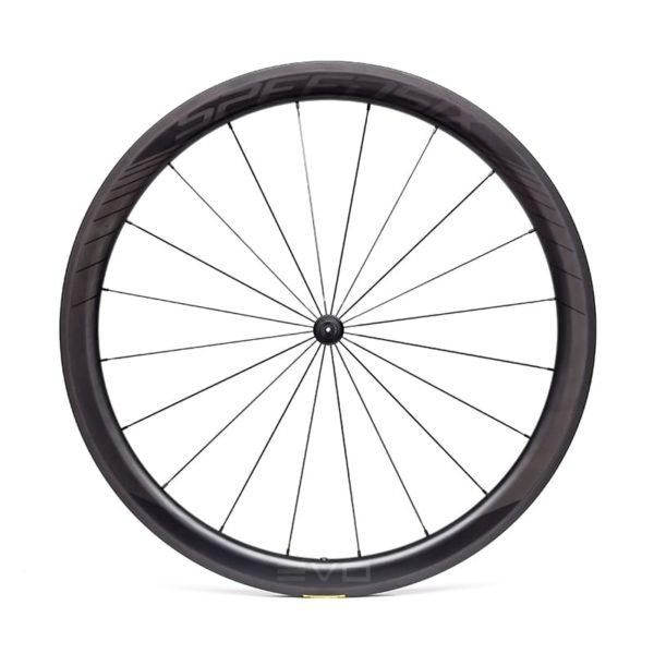 Rodas estrada de carbono speedsix evo 45 pneu
