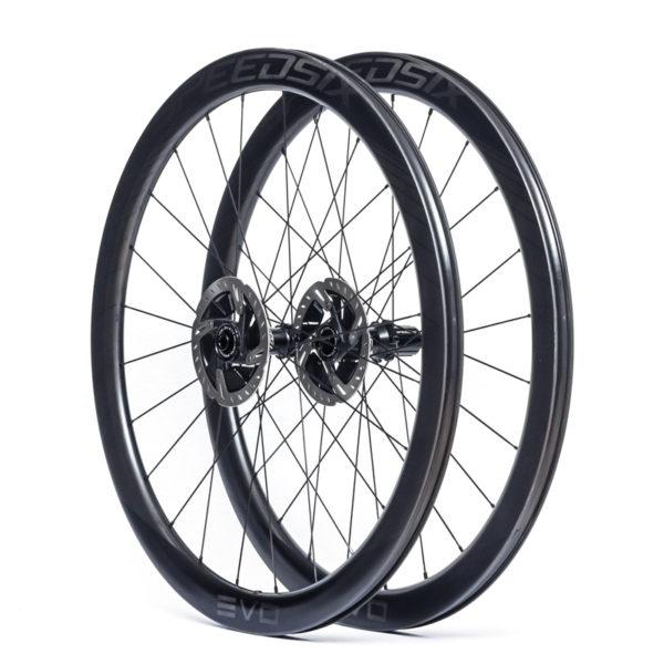 rodas carbono estrada disco speedsix evo 45